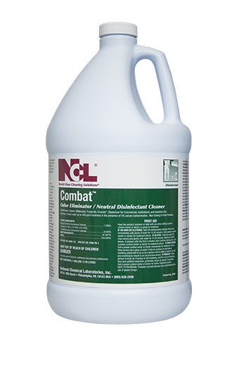 Combat Odor Eliminator Neutral Disinfectant Cleaner Image