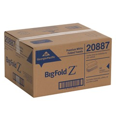 GP BigFold Z® White Premium C-Fold Replacement Paper Towels (20887) Image