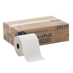 GP SofPull® White 100 Percent Recycled Fiber Hardwound Roll Paper Towel (26910) Image