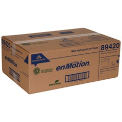 "GP enMotion® White 8"" 1-Ply Roll Towel (89420) Image"