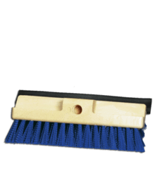 "10"" Deck Brush w/ Squeegee Image"
