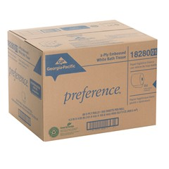 GP Preference® White 2-Ply Embossed Bathroom Tissue Image